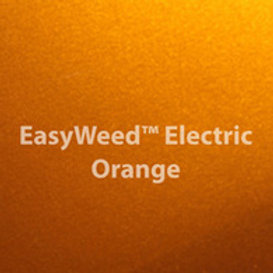 Easy Weed Electric Orange Heat Transfer