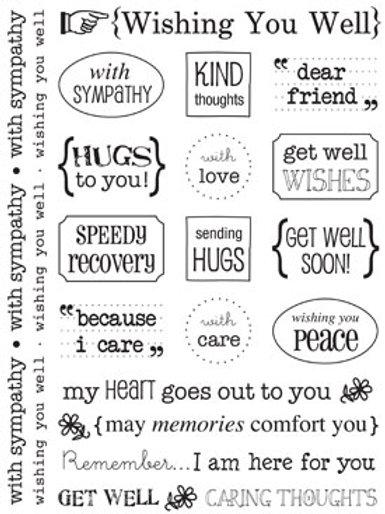 51016 Wishing You Well  Sticker Sentiment