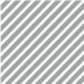 Patterned Vinyl - Grey Stripes - 10 sheets