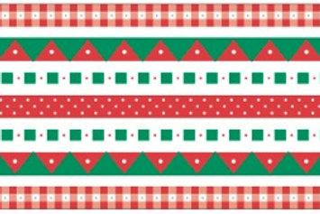 Little Borders #26025 - Christmas - 1 Doz