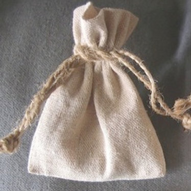 Rustic Linen  Bag, Large