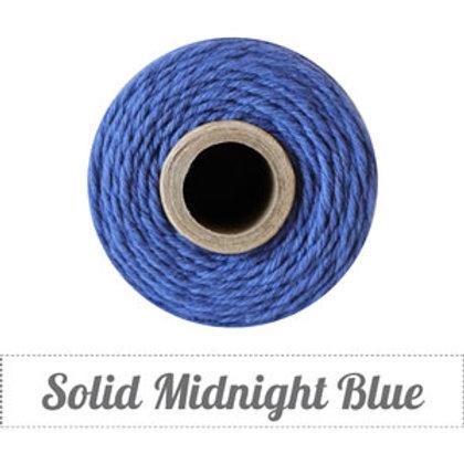 Solid Midnight Blue Twine