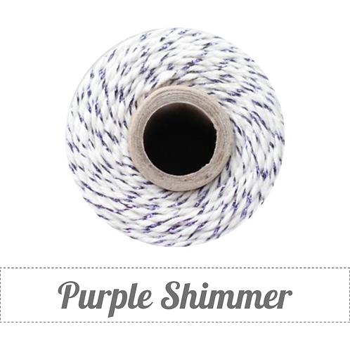 Purple Shimmer Twinery Twine