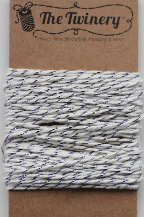 Purple Shimmer Twinery Twine, Packaged