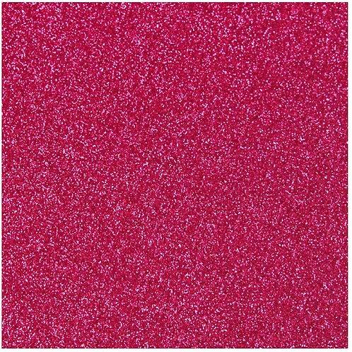 Glitter Hot Pink Heat Transfer