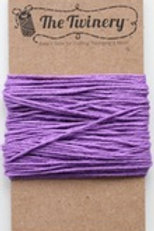 Lilac Solid Twine, Packaged