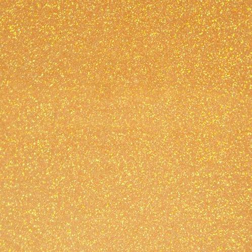 Translucent Glitter Orange Heat Transfer