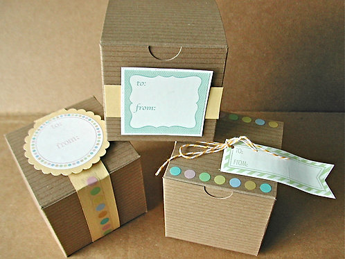 75024 It's a Wrap DIY Baby Boxes Kit