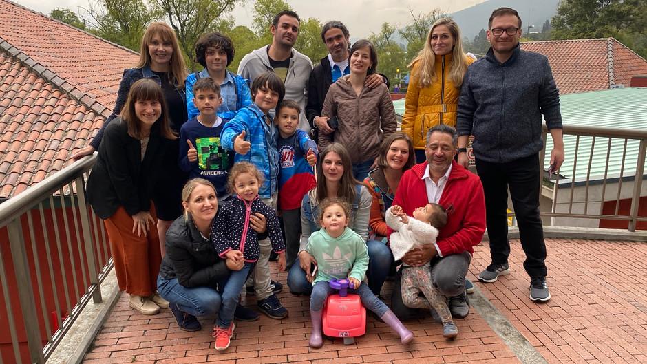 Niektorí Slováci žijúci v Kolumbii