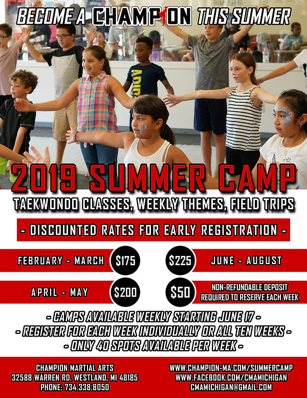 Champion Summer Camp