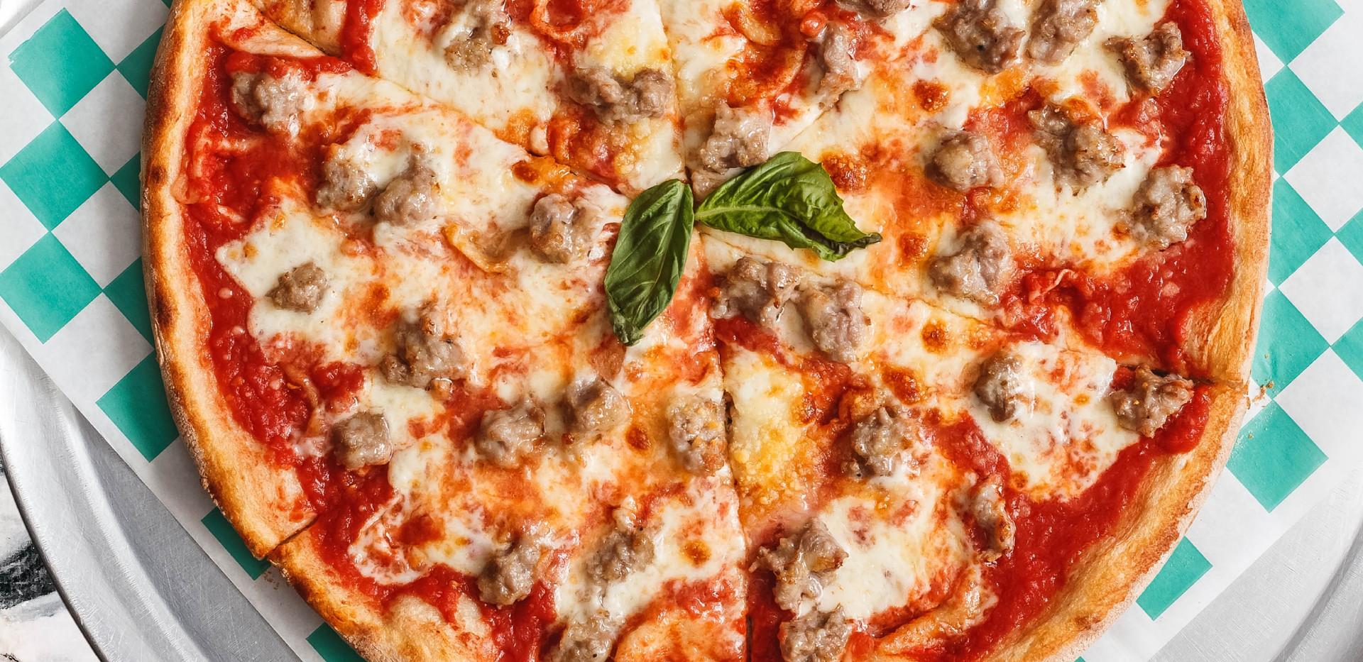 Sweet Sausage Pizza