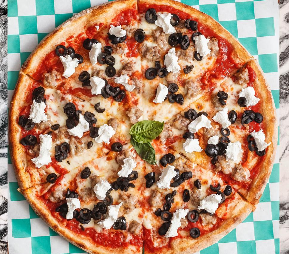 Pulp Fiction Pizza