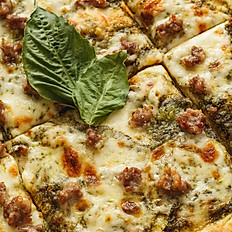 Sausage & Pesto Sicilian style