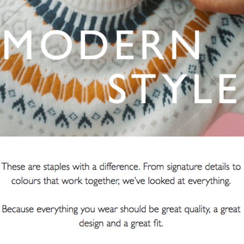 Sarah Hunt branding and brand copy