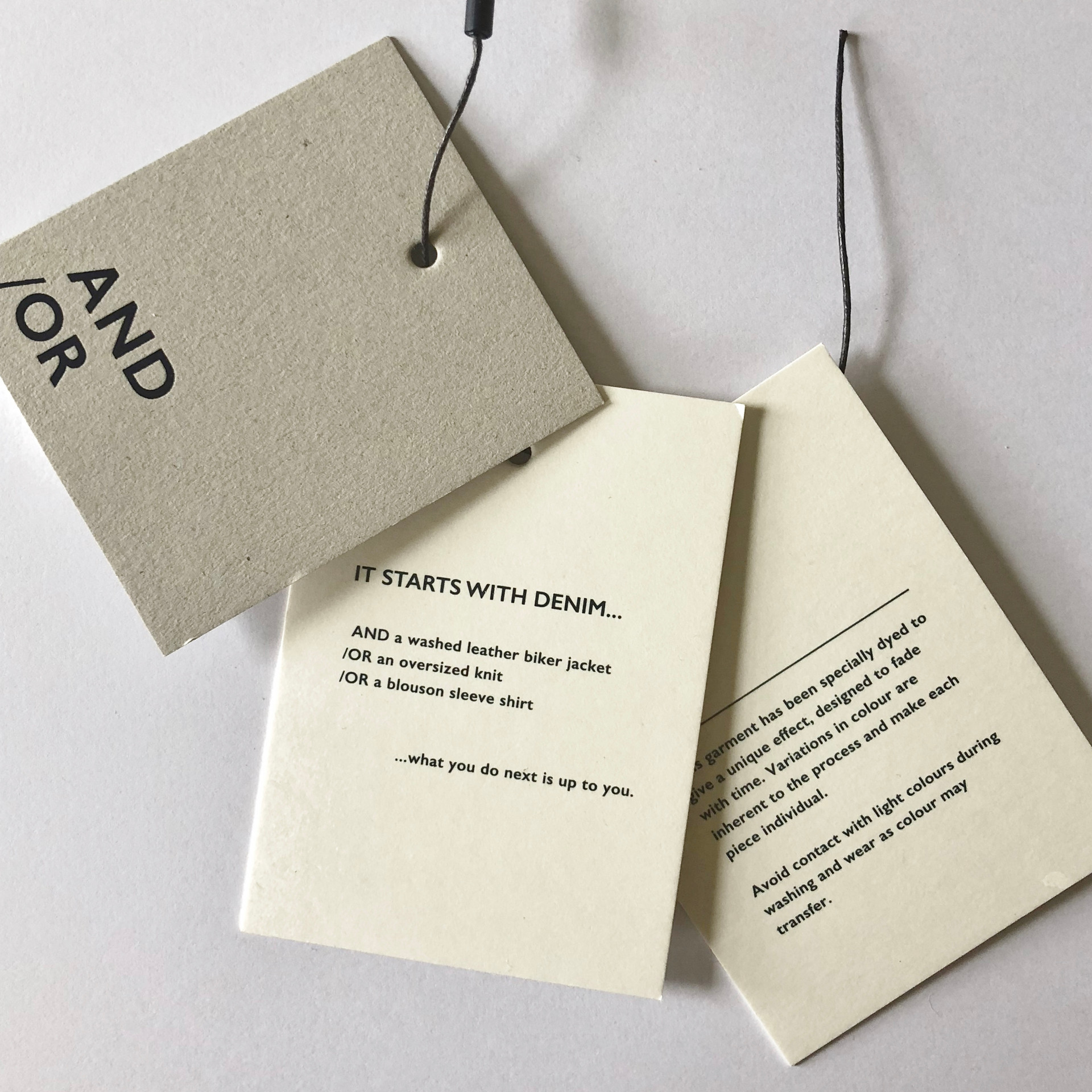 ANDOR brand launch copywriting tags 2.jp