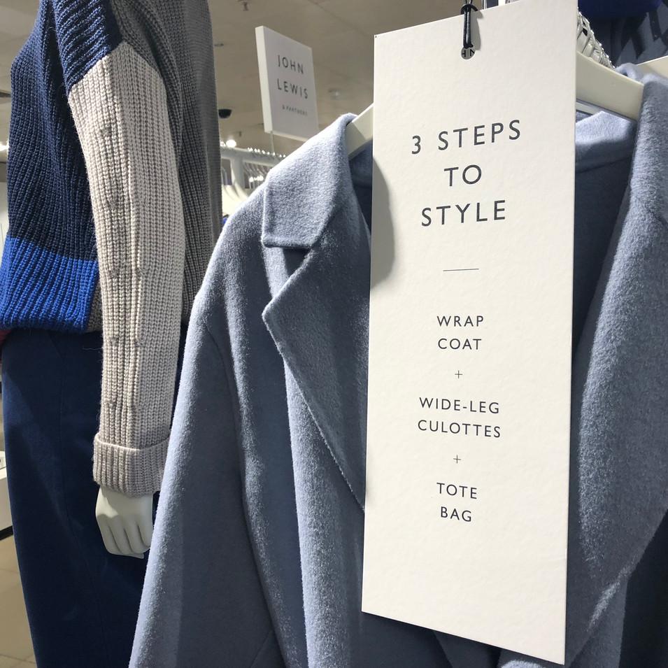 Sarah Hunt John Lewis & Partners fashion