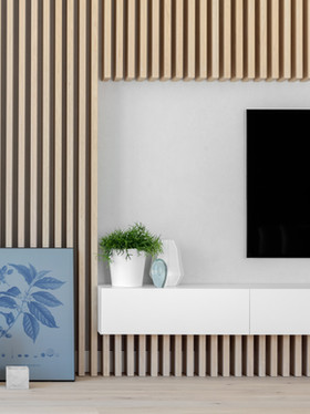 Salon | Apartament 132m2 Wilanów