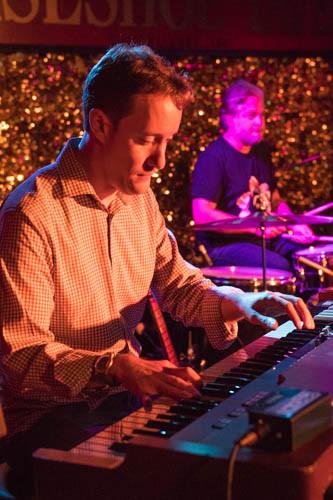 Scott on the Hammond organ