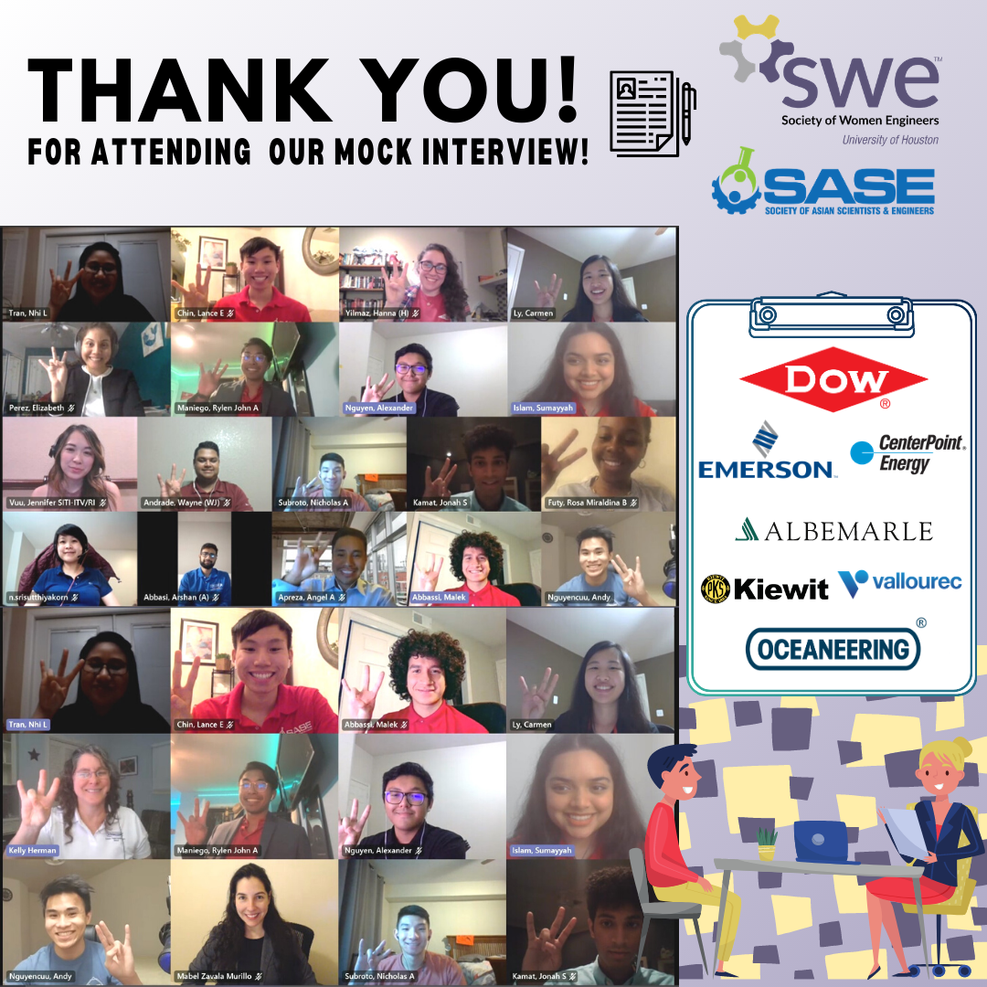 thank you! For attending our mock interv