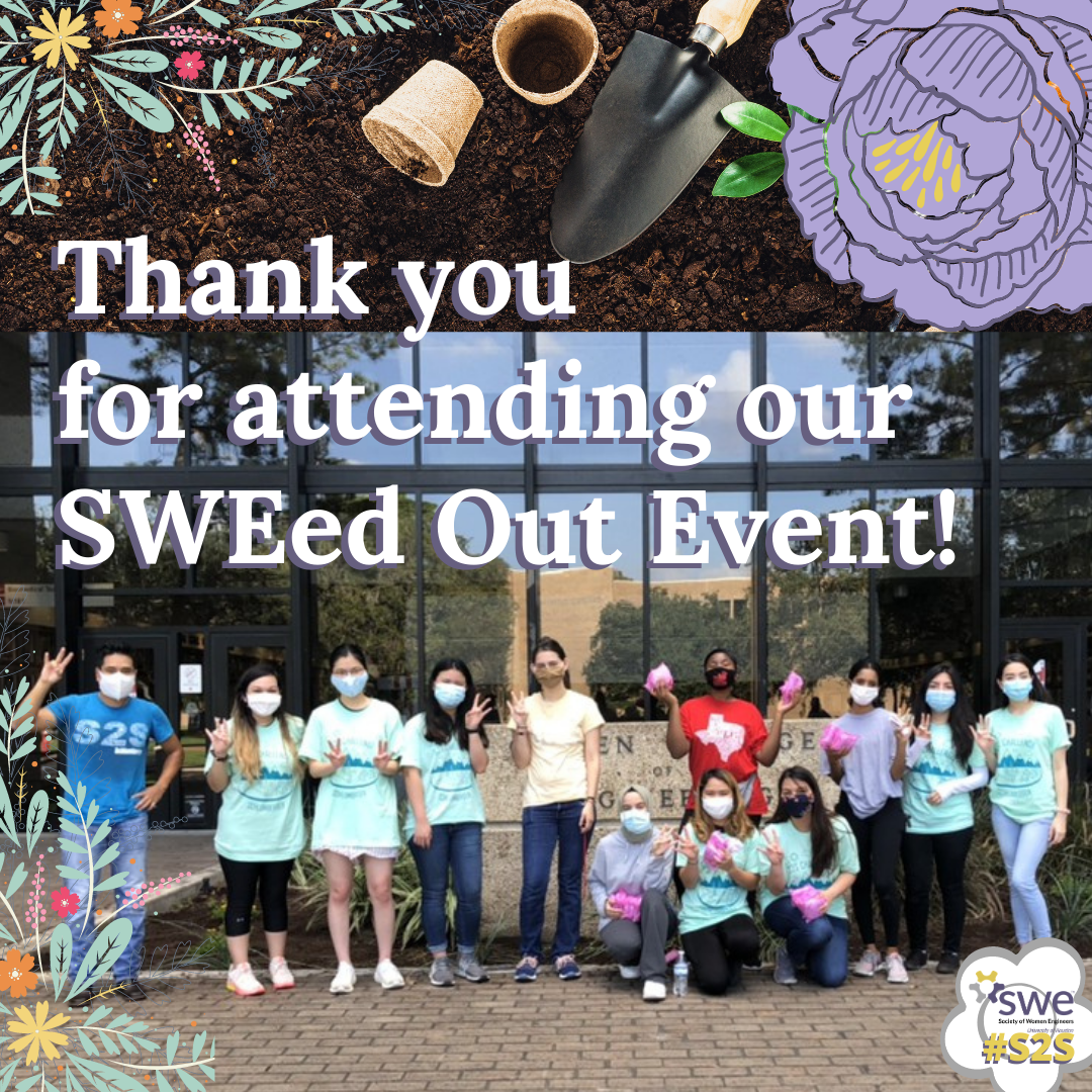 Thank you for attending our SWEed Out Ev
