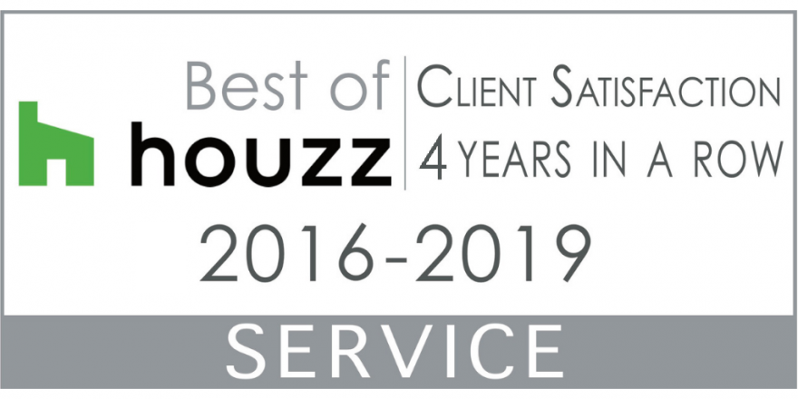 Houzz 4 years in a row