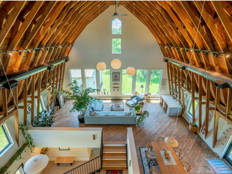 FOLLOW THE BARN HOUSE PROJECT - Northeast Ohio Barn Conversion to Family Home