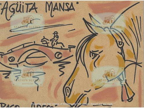 Peinture en bois - Agüita Mansa