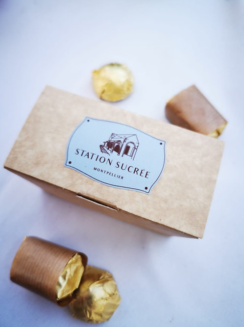 Boîte de bonbons au chocolat
