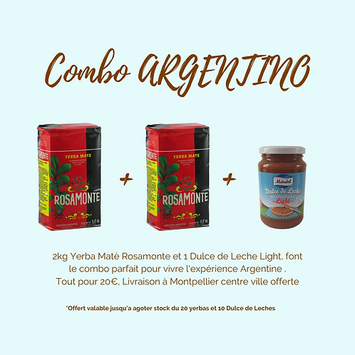 Combo ARGENTINO
