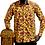 Thumbnail: Mens Long Sleeve African Print Shirt