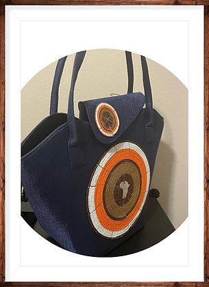 Afrikan Pendant Tote Shoulder Bag