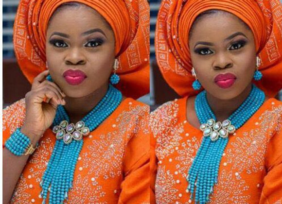 African Wedding Bridal Jewelry Set