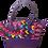 Thumbnail: Afrikan Print Tote Shoulder Bag