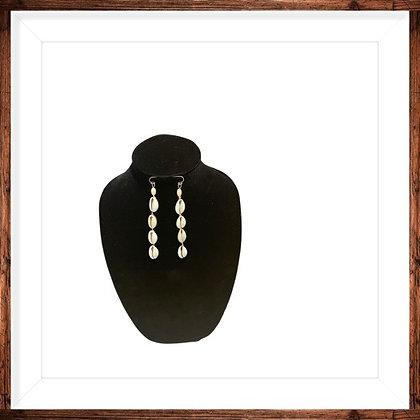Cowrie Love Dangle Earrings