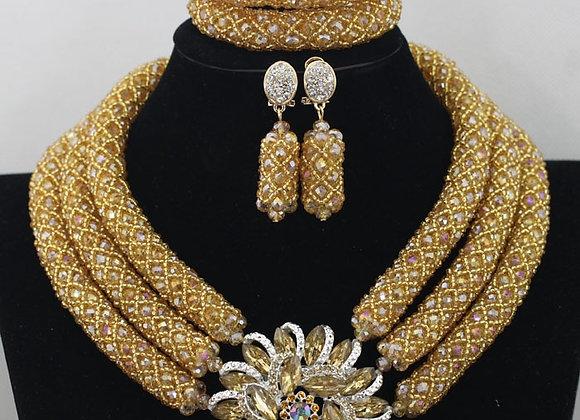 Chunky Crystal Beads Set