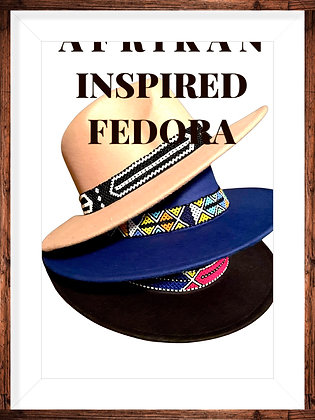Beaded Fedora