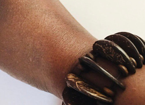 Handcrafted Coconut Bangle