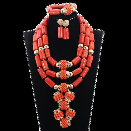 Nigerian Wedding Jewelry Set