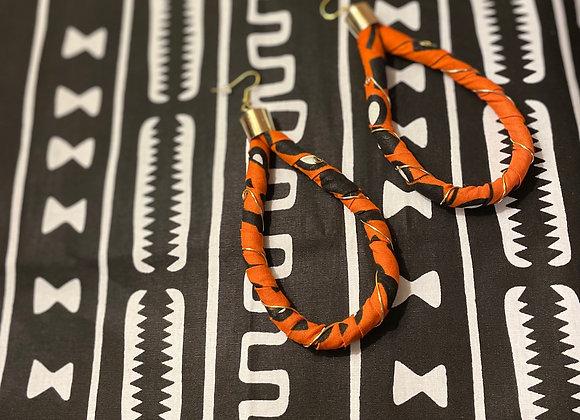 African Ankara Earrings