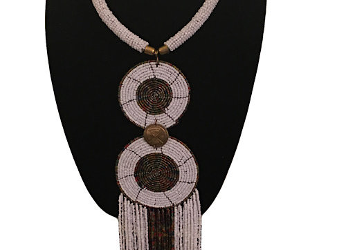 Maasai Accented Statement Necklace