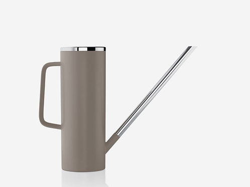 Taupe and Stainless Watering Vessel