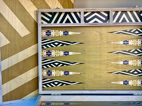Goldstone Tabletop Backgammon Set