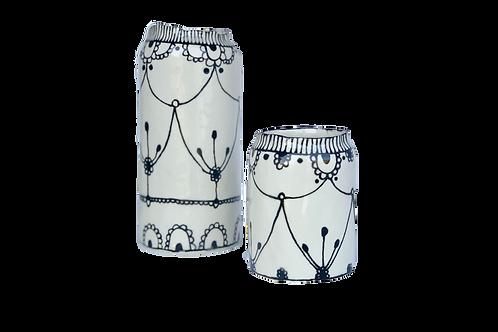 Links-Ceramic Hand-Painted Glazed Vase
