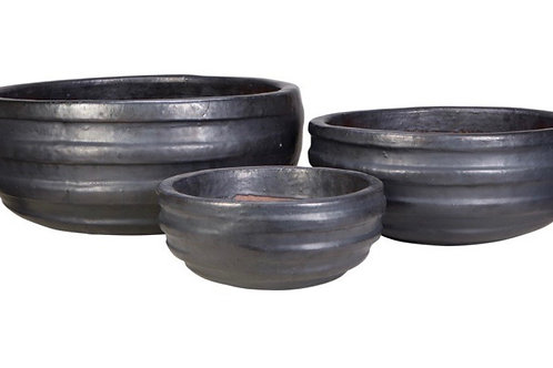 Noche High-Fired Glazed Bowls-Small
