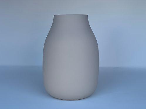 Porcelain Vase in Dove Grey