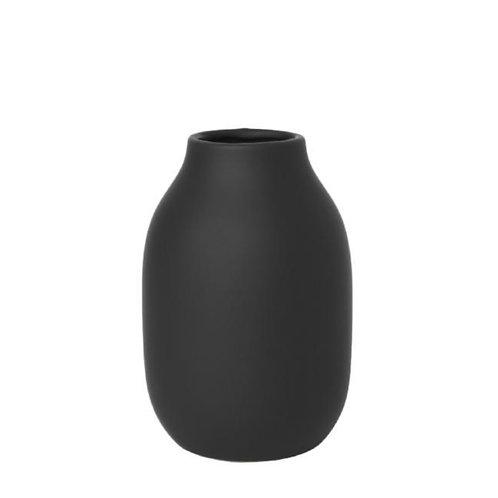 Porcelain Vase in Charcoal