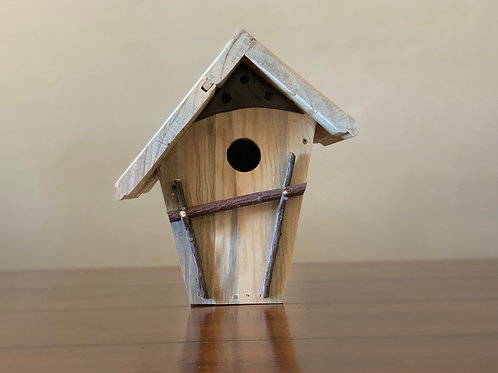 Twig and Pine Bird House
