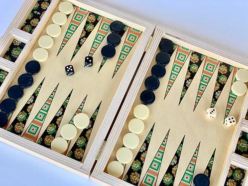Mesa Meadow Travel Backgammon Set