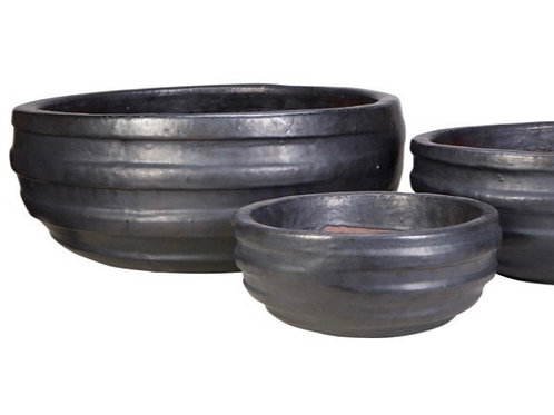 Noche High-Fired Glazed Bowl -Large