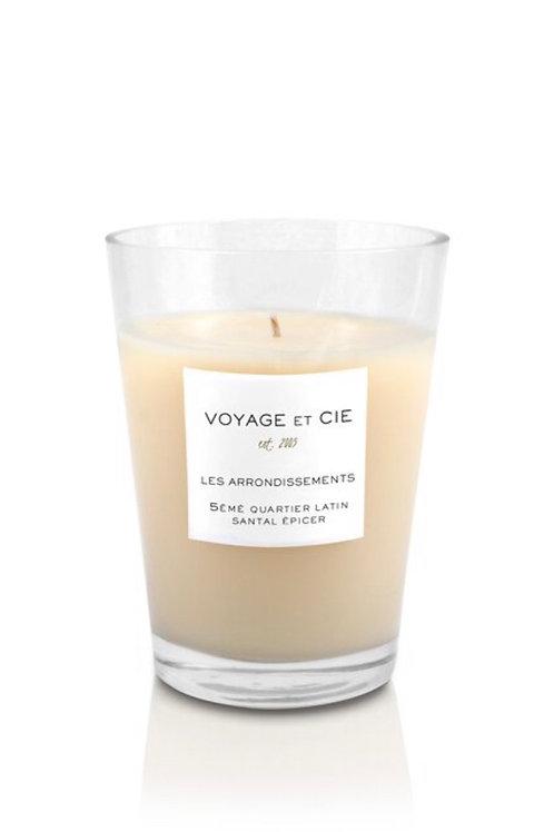 "Voyage et Cie 6"" French Cut Vase- Santal Epicer"